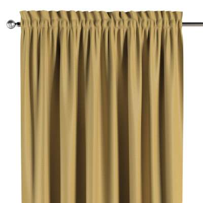 Blackout slot and frill curtain 269-68 muted yellow Collection Blackout