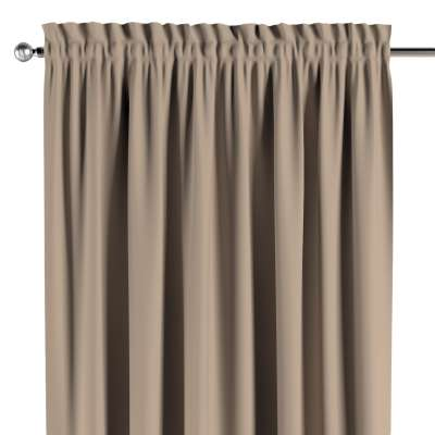 Blackout slot and frill curtains 269-00 beige Collection Royal Blackout