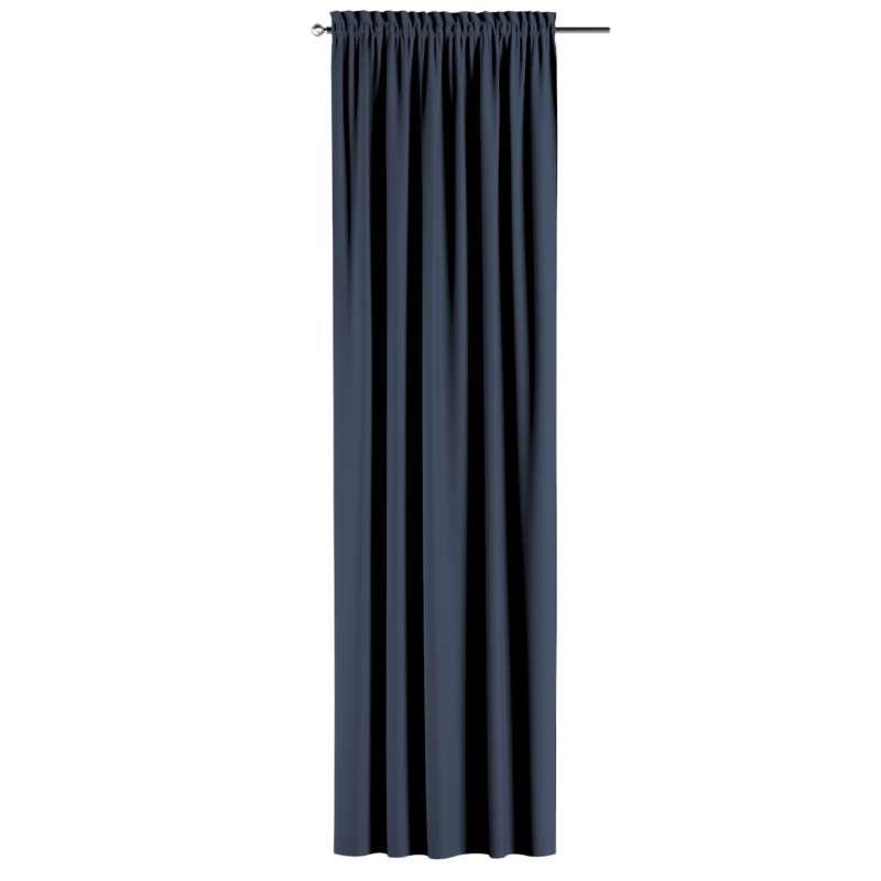 Zatemňujúci záves s navliekacou riasiacou páskou V kolekcii Blackout - zatemňujúca, tkanina: 269-16