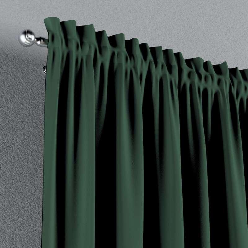 Zatemňujúci záves s navliekacou riasiacou páskou V kolekcii Blackout - zatemňujúca, tkanina: 269-18
