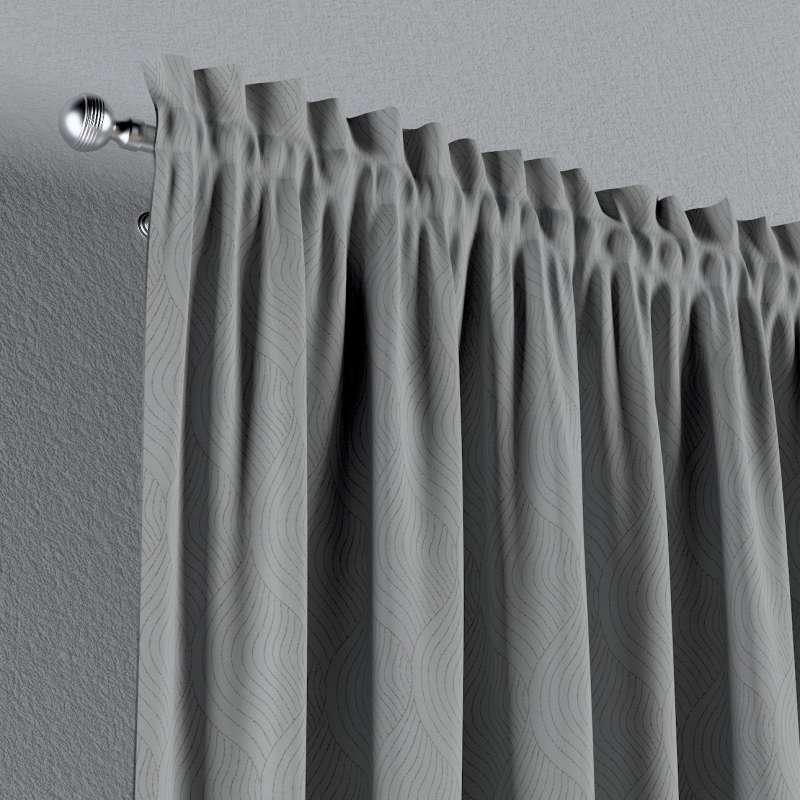 Zatemňujúci záves s navliekacou riasiacou páskou V kolekcii Blackout - zatemňujúca, tkanina: 269-19