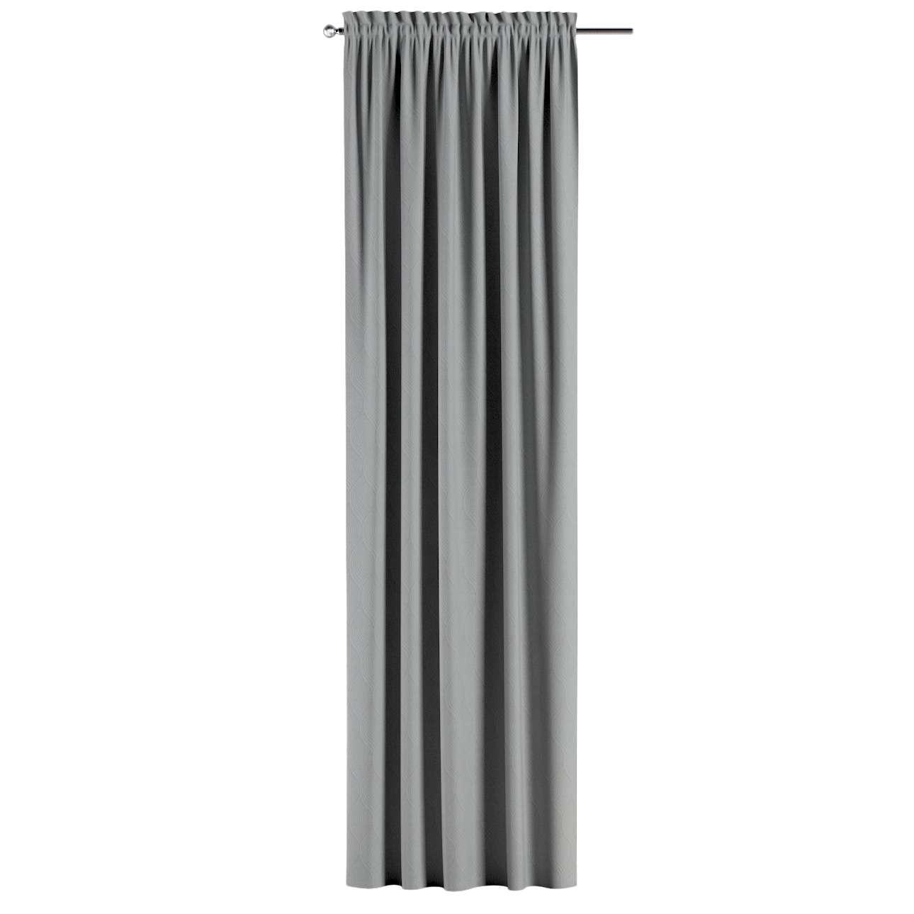 Lystet gardin med løpegang - Multibånd fra kolleksjonen Blackout (mørklegging), Stoffets bredde: 269-19