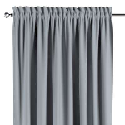 Blackout slot and frill curtain 269-06 light grey Collection Blackout 280 cm