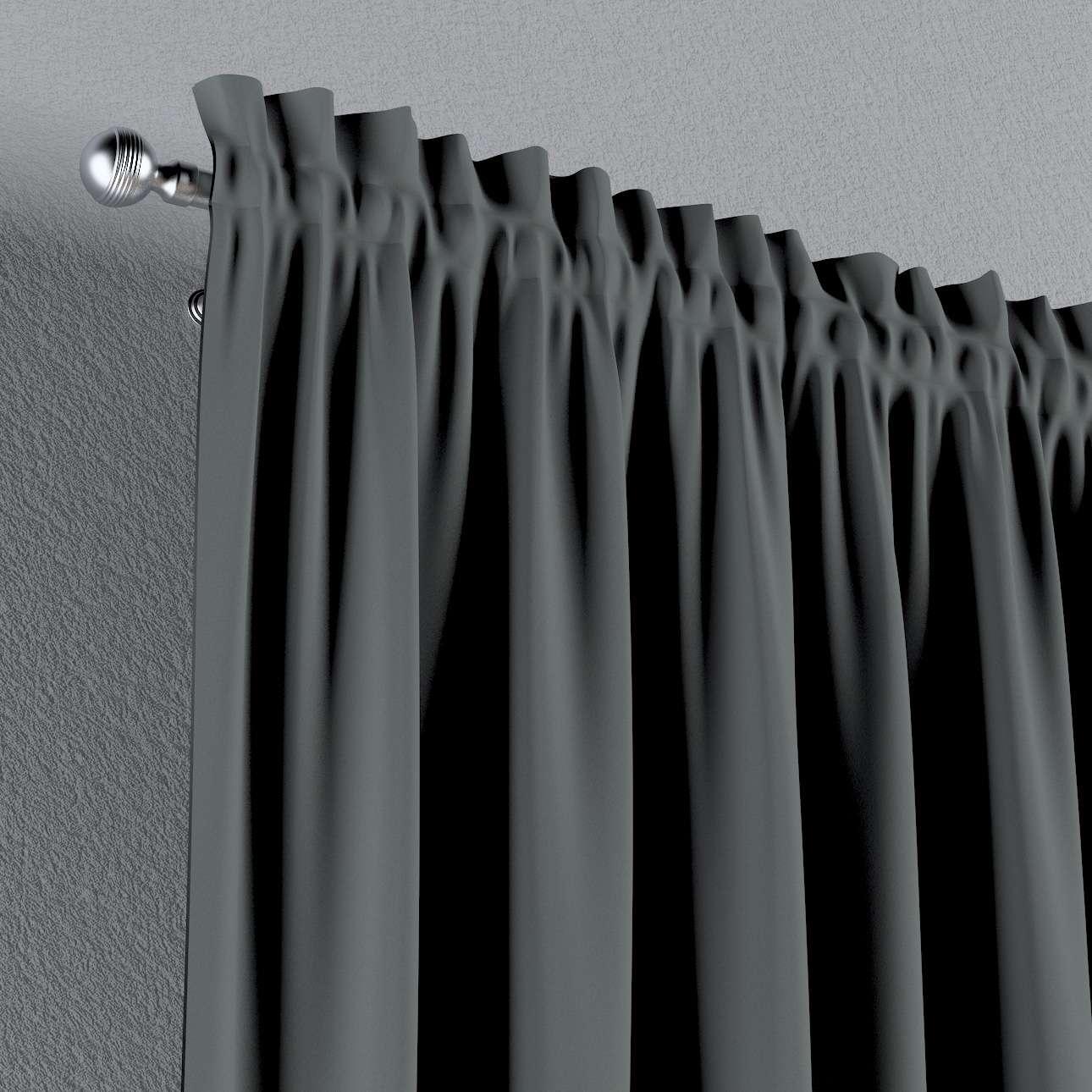 Zasłona zaciemniająca na kanale z grzywką 1 szt. w kolekcji Blackout 280, tkanina: 269-07