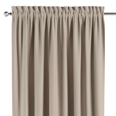 Blackout slot and frill curtain 269-00 beige Collection Blackout
