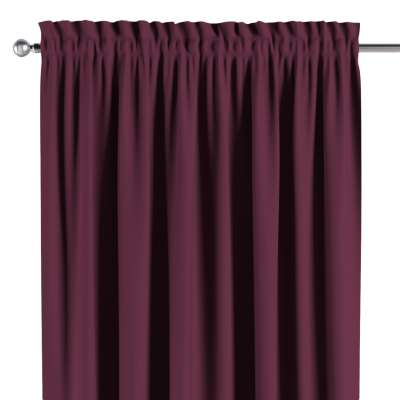 Blackout slot and frill curtain 269-53 purple Collection Blackout