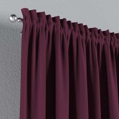Zatemňujúci záves s navliekacou riasiacou páskou V kolekcii Blackout - zatemňujúca, tkanina: 269-53