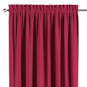 Blackout slot and frill curtain
