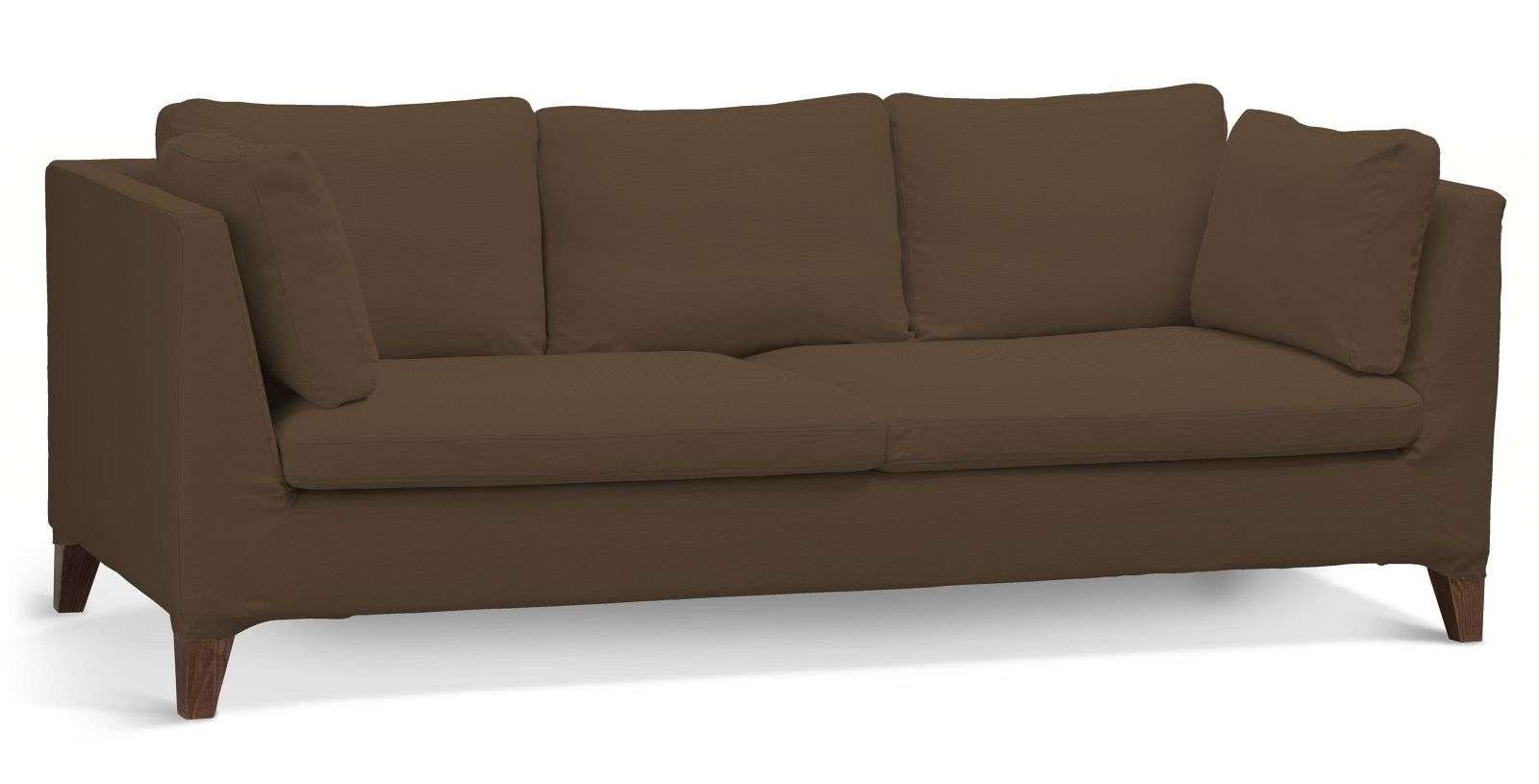 Pokrowiec na sofę Stockholm 3-osobową sofa Stockholm 3-osobowa w kolekcji Cotton Panama, tkanina: 702-02