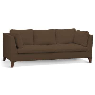 Pokrowiec na sofę Stockholm 3-osobową w kolekcji Cotton Panama, tkanina: 702-02