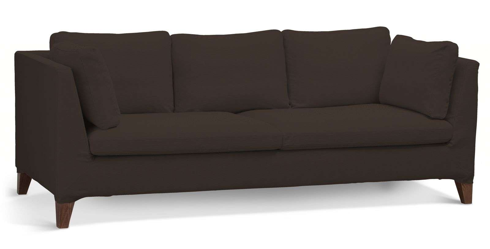 Pokrowiec na sofę Stockholm 3-osobową sofa Stockholm 3-osobowa w kolekcji Cotton Panama, tkanina: 702-03