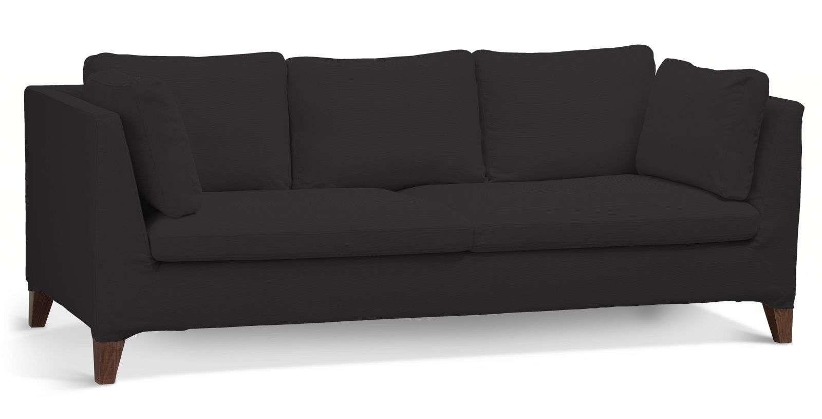 Pokrowiec na sofę Stockholm 3-osobową sofa Stockholm 3-osobowa w kolekcji Cotton Panama, tkanina: 702-08