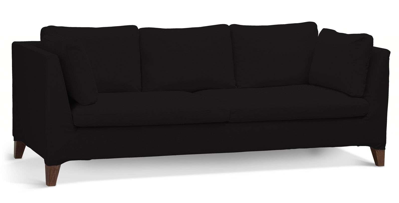 Pokrowiec na sofę Stockholm 3-osobową sofa Stockholm 3-osobowa w kolekcji Cotton Panama, tkanina: 702-09