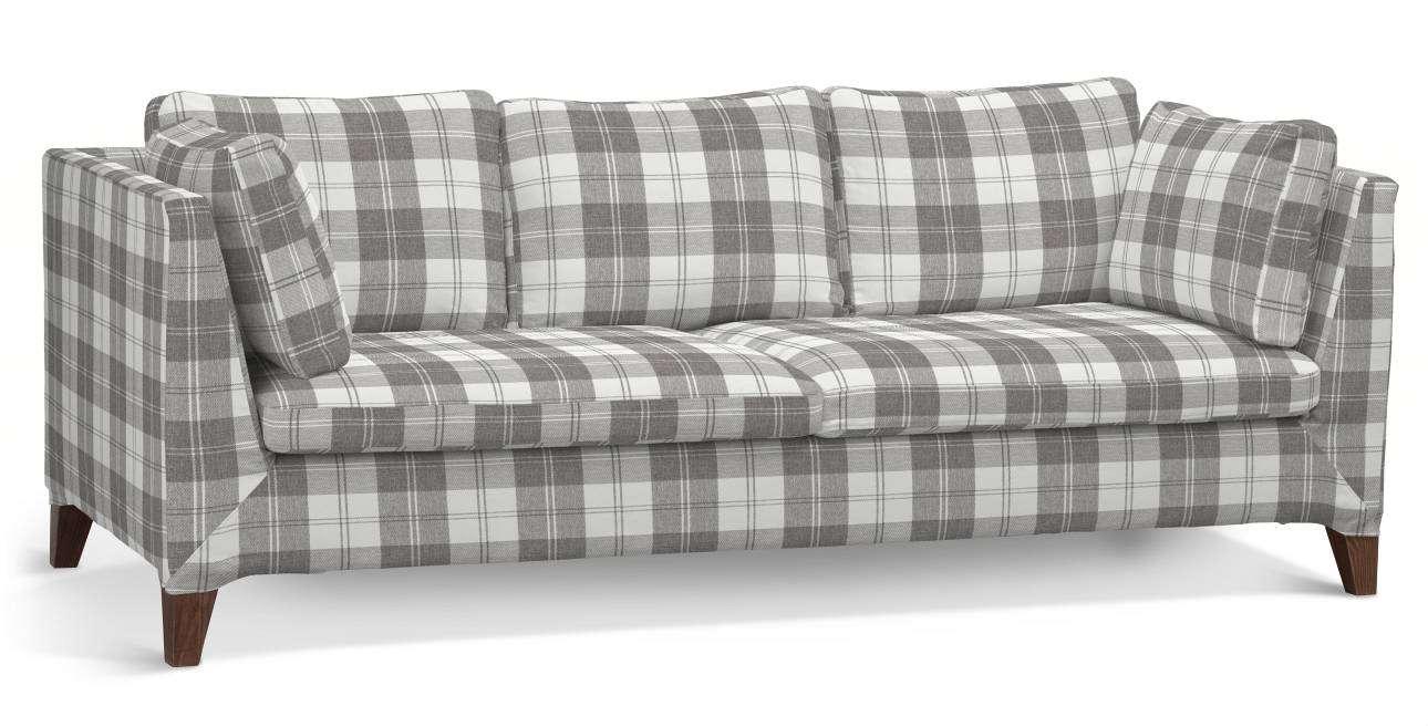 Bezug für Stockholm 3-Sitzer Sofa von der Kollektion Edinburgh, Stoff: 115-79