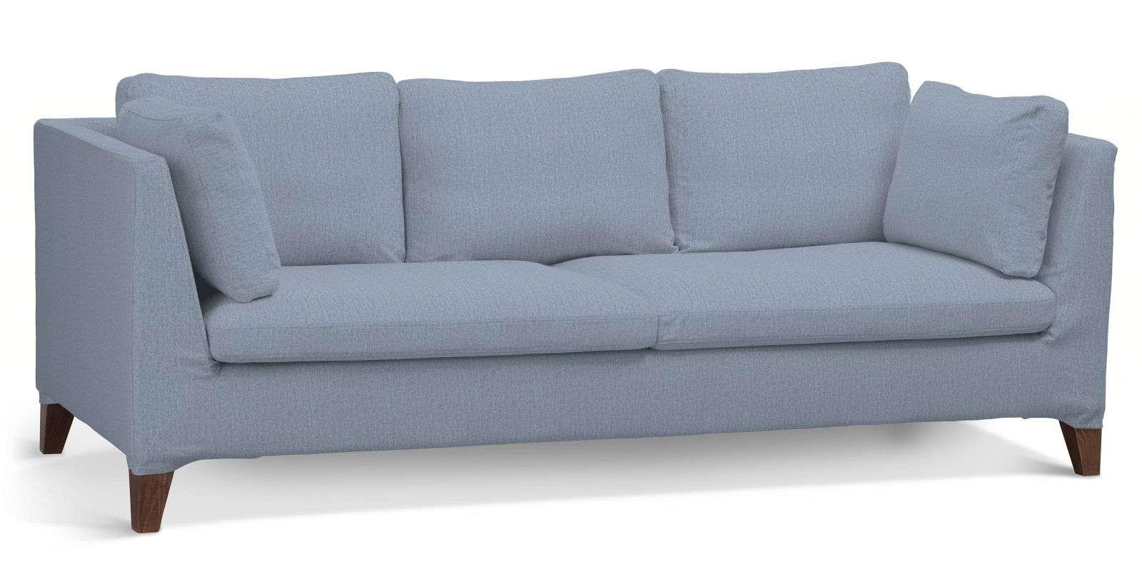 Pokrowiec na sofę Stockholm 3-osobową sofa Stockholm 3-osobowa w kolekcji Chenille, tkanina: 702-13