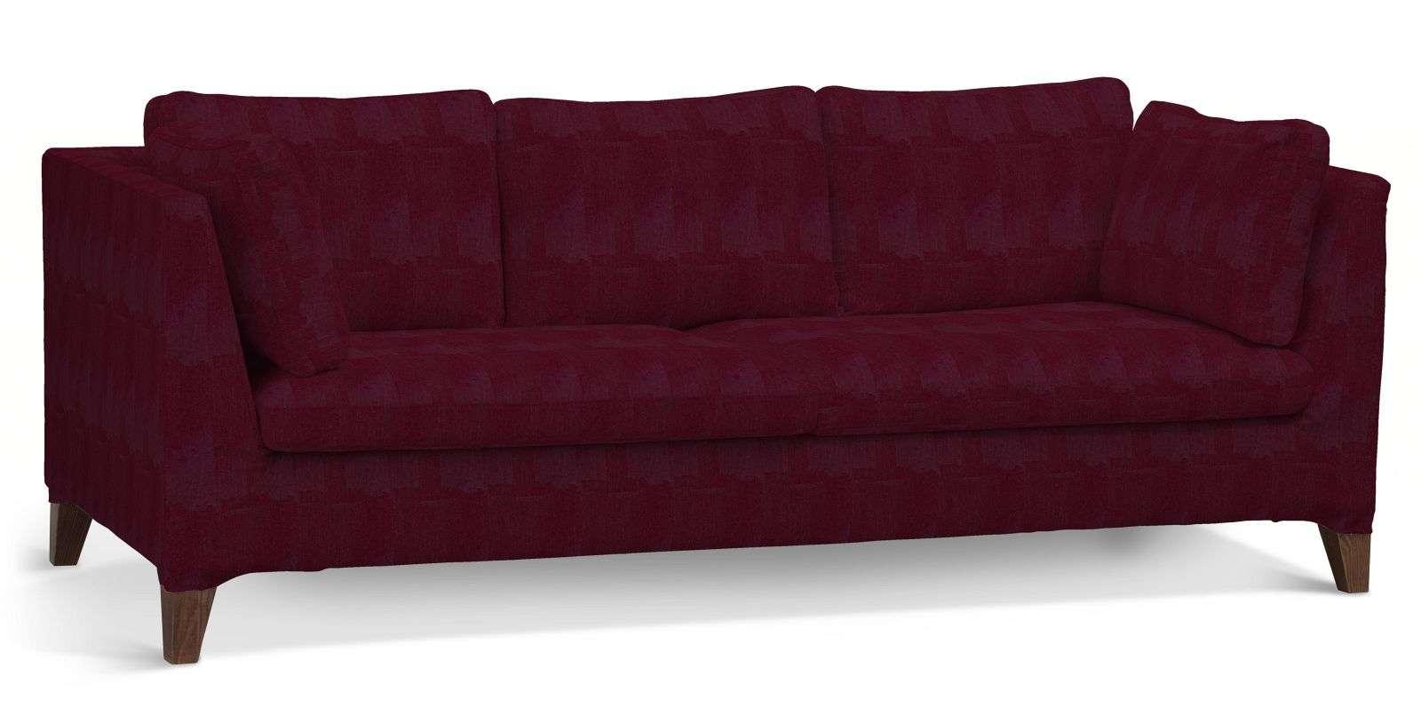Pokrowiec na sofę Stockholm 3-osobową sofa Stockholm 3-osobowa w kolekcji Chenille, tkanina: 702-19