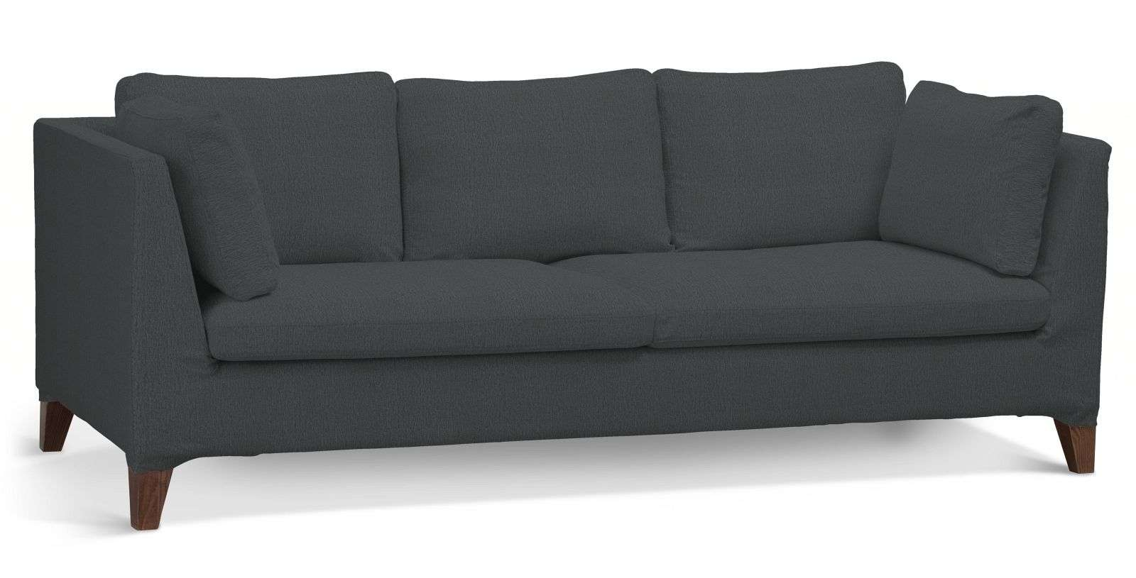 Pokrowiec na sofę Stockholm 3-osobową sofa Stockholm 3-osobowa w kolekcji Chenille, tkanina: 702-20