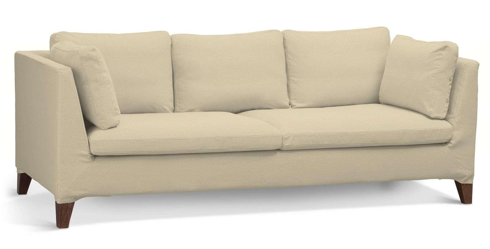 Pokrowiec na sofę Stockholm 3-osobową sofa Stockholm 3-osobowa w kolekcji Chenille, tkanina: 702-22