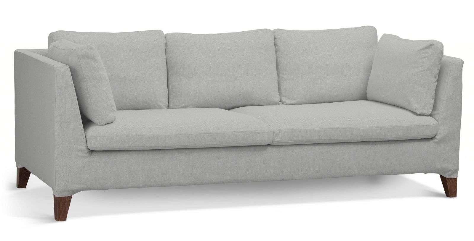 Pokrowiec na sofę Stockholm 3-osobową w kolekcji Chenille, tkanina: 702-23