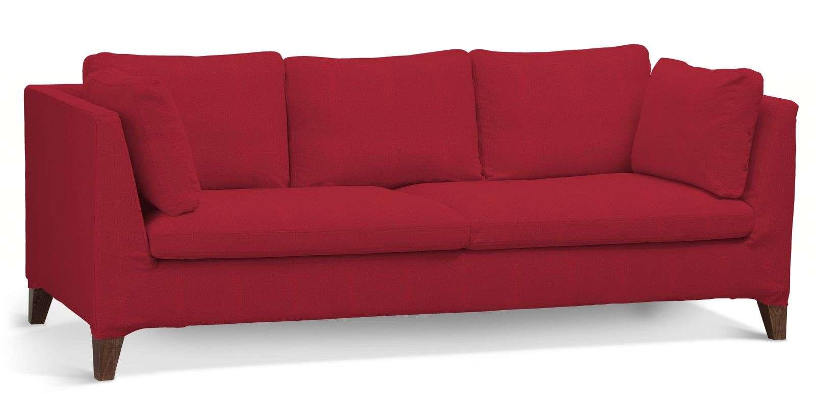 Pokrowiec na sofę Stockholm 3-osobową sofa Stockholm 3-osobowa w kolekcji Chenille, tkanina: 702-24