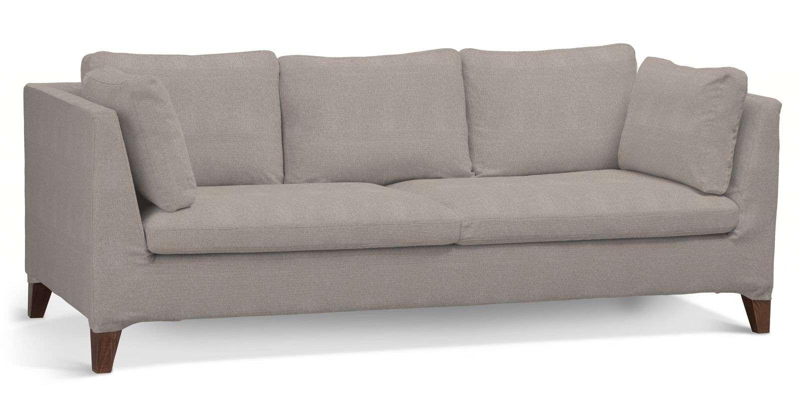 Pokrowiec na sofę Stockholm 3-osobową sofa Stockholm 3-osobowa w kolekcji Etna , tkanina: 705-09