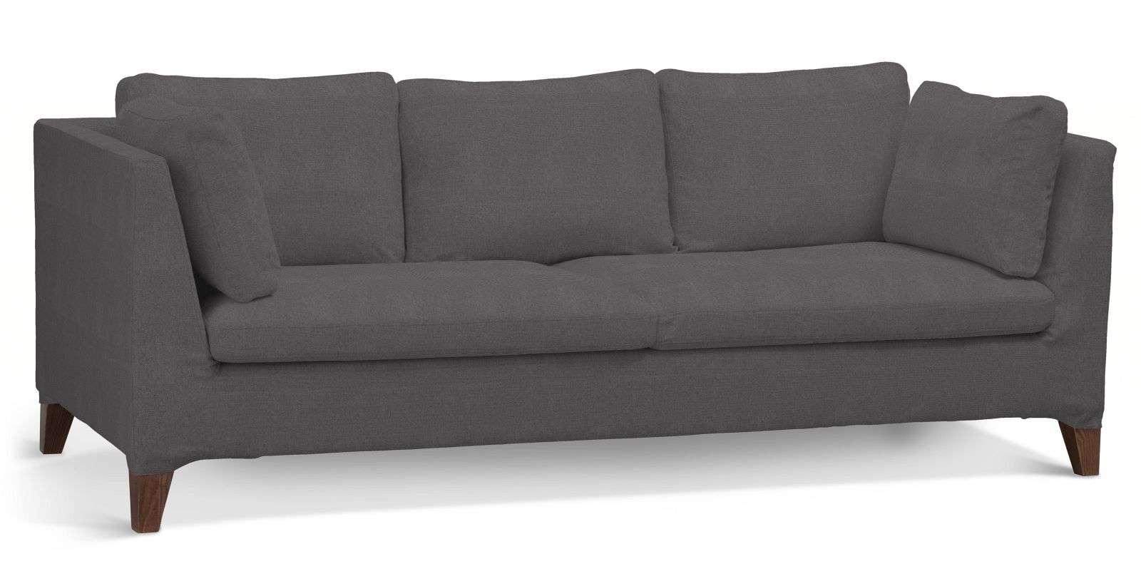 Pokrowiec na sofę Stockholm 3-osobową sofa Stockholm 3-osobowa w kolekcji Etna , tkanina: 705-35