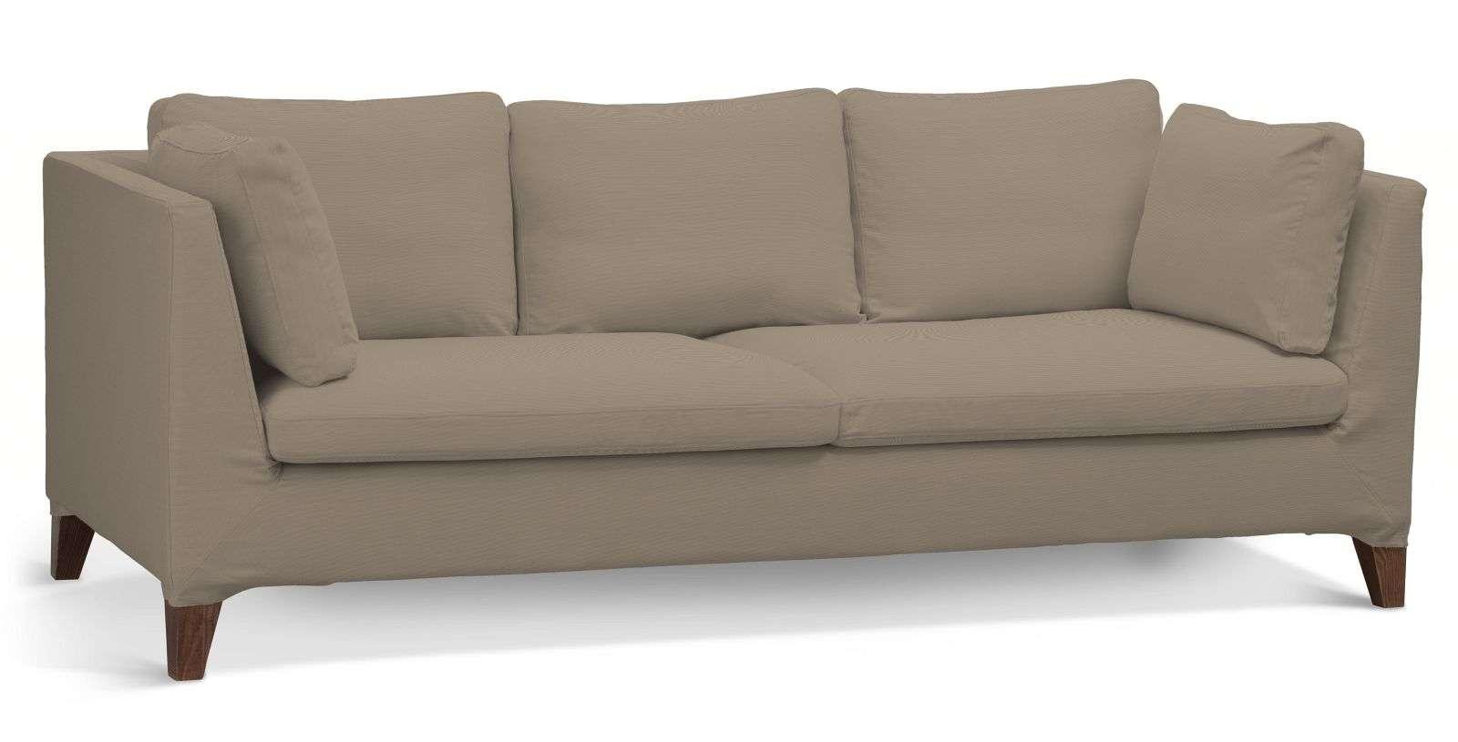 Pokrowiec na sofę Stockholm 3-osobową sofa Stockholm 3-osobowa w kolekcji Cotton Panama, tkanina: 702-28