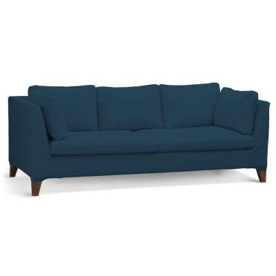 Pokrowiec na sofę Stockholm 3-osobową w kolekcji Cotton Panama, tkanina: 702-30
