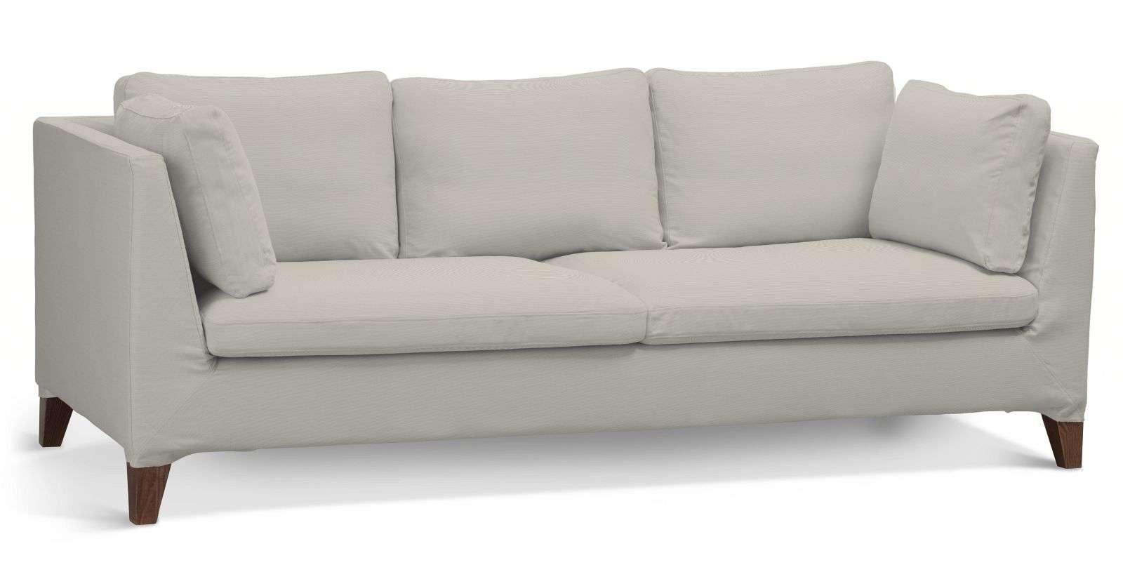 Pokrowiec na sofę Stockholm 3-osobową sofa Stockholm 3-osobowa w kolekcji Cotton Panama, tkanina: 702-31
