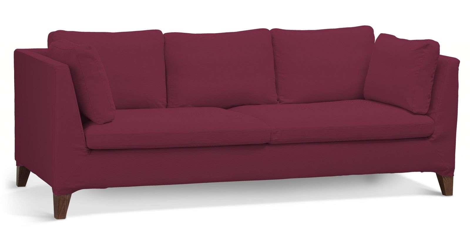 Pokrowiec na sofę Stockholm 3-osobową sofa Stockholm 3-osobowa w kolekcji Cotton Panama, tkanina: 702-32