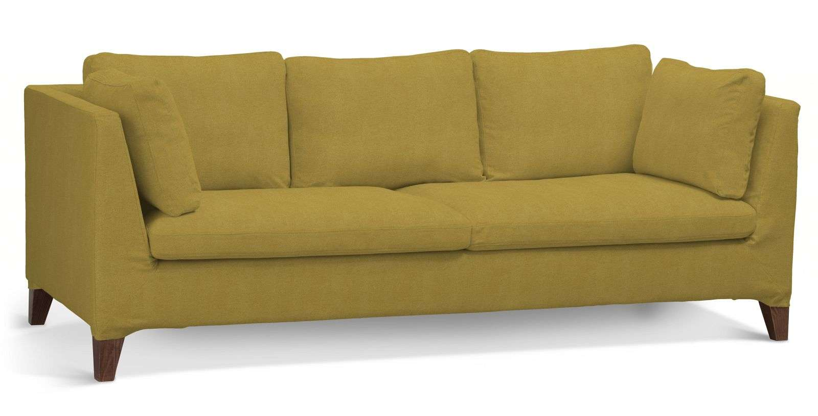 Pokrowiec na sofę Stockholm 3-osobową sofa Stockholm 3-osobowa w kolekcji Etna , tkanina: 705-04
