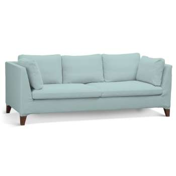 Stockholm 3-seater sofa cover 702-10 pastel blue Collection Cotton Panama