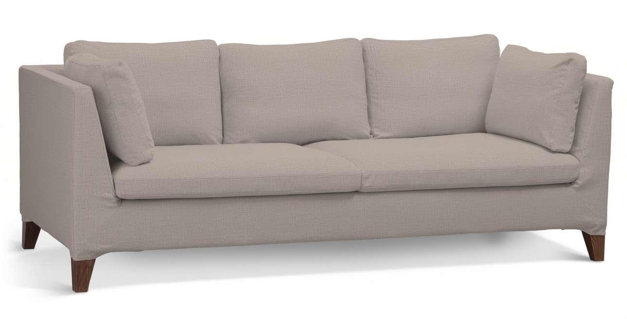 Pokrowiec na sofę Stockholm 3-osobową w kolekcji Living II, tkanina: 160-85