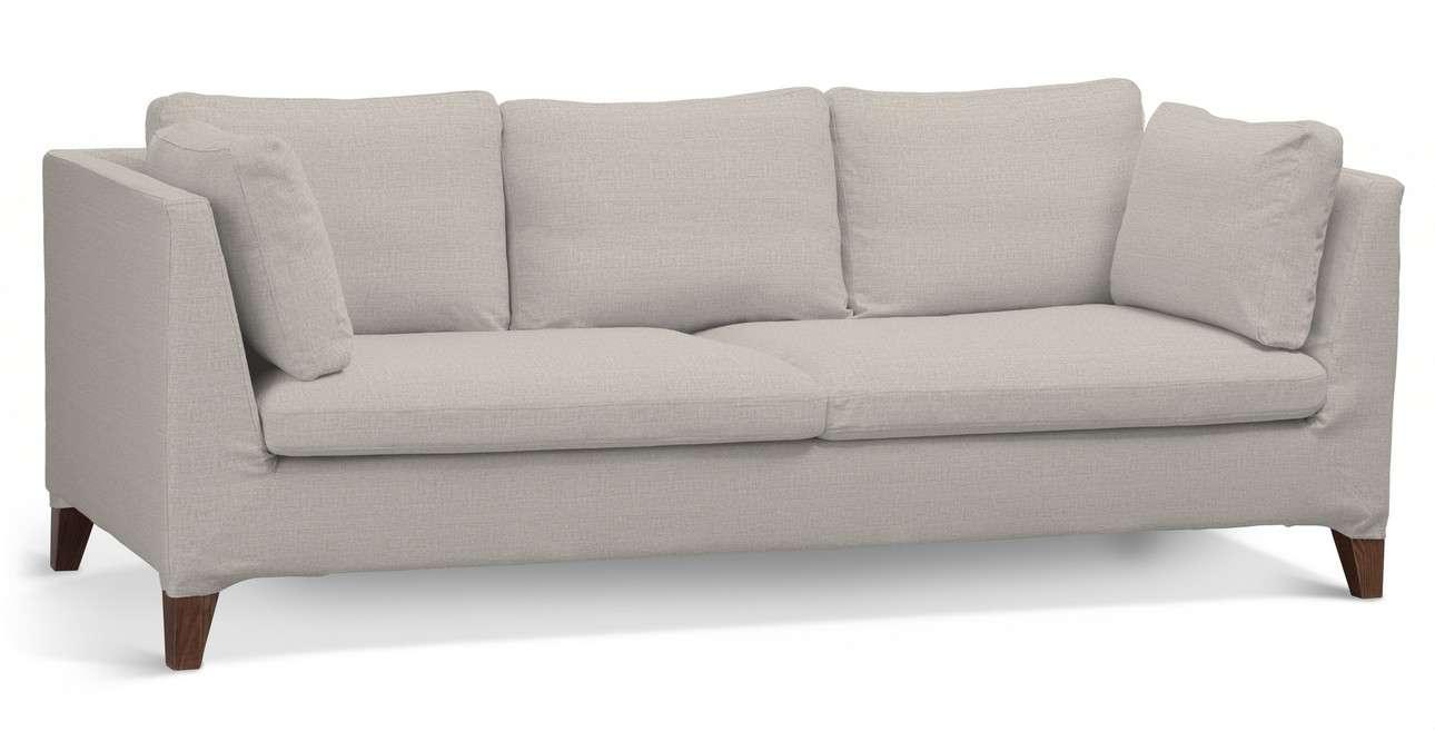 Pokrowiec na sofę Stockholm 3-osobową w kolekcji Living, tkanina: 161-00