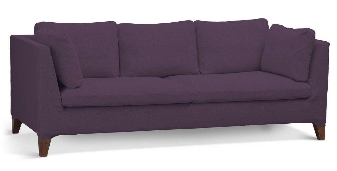 Pokrowiec na sofę Stockholm 3-osobową w kolekcji Etna, tkanina: 161-27