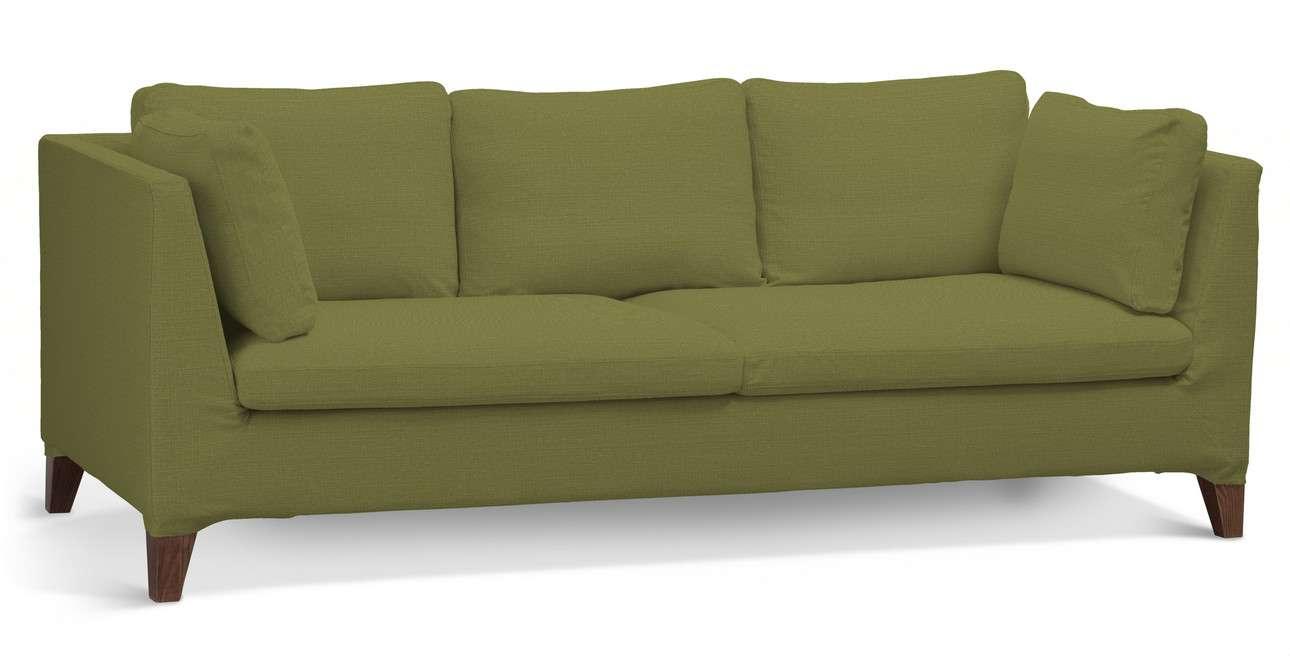 Pokrowiec na sofę Stockholm 3-osobową w kolekcji Living, tkanina: 161-13