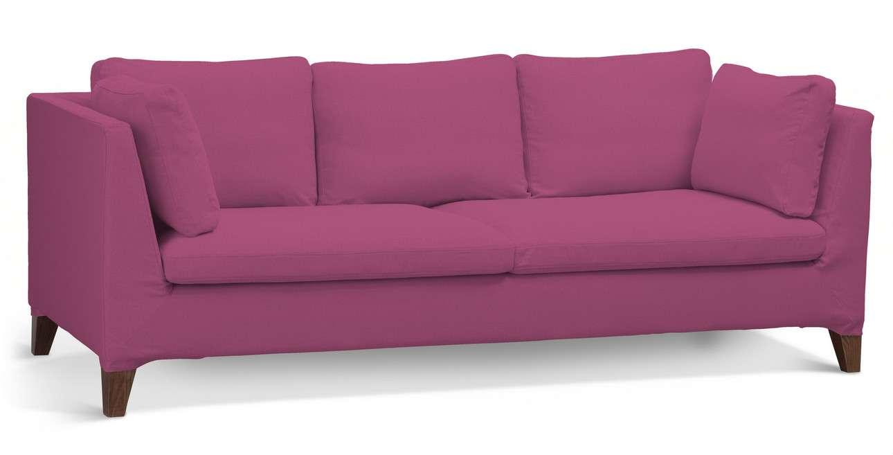 Pokrowiec na sofę Stockholm 3-osobową w kolekcji Living II, tkanina: 161-29