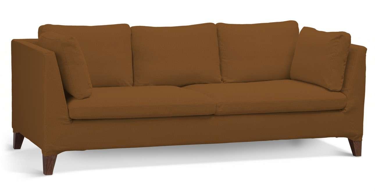 Pokrowiec na sofę Stockholm 3-osobową w kolekcji Living II, tkanina: 161-28