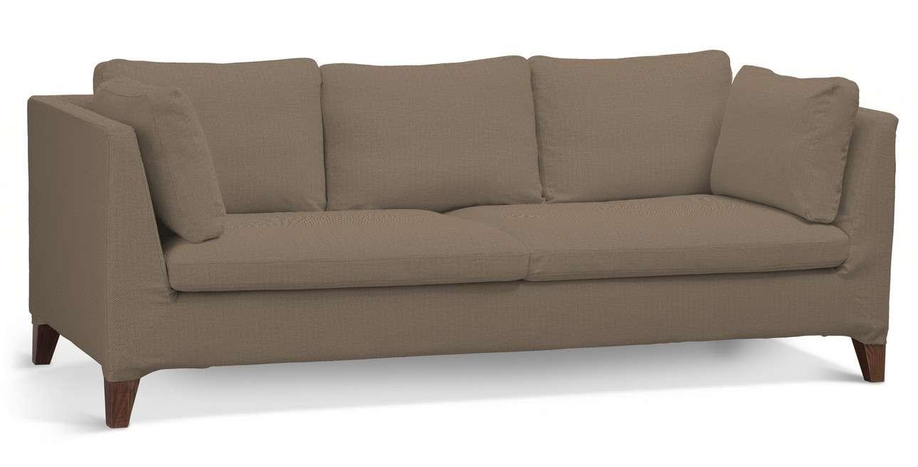 Pokrowiec na sofę Stockholm 3-osobową w kolekcji Bergen, tkanina: 161-85