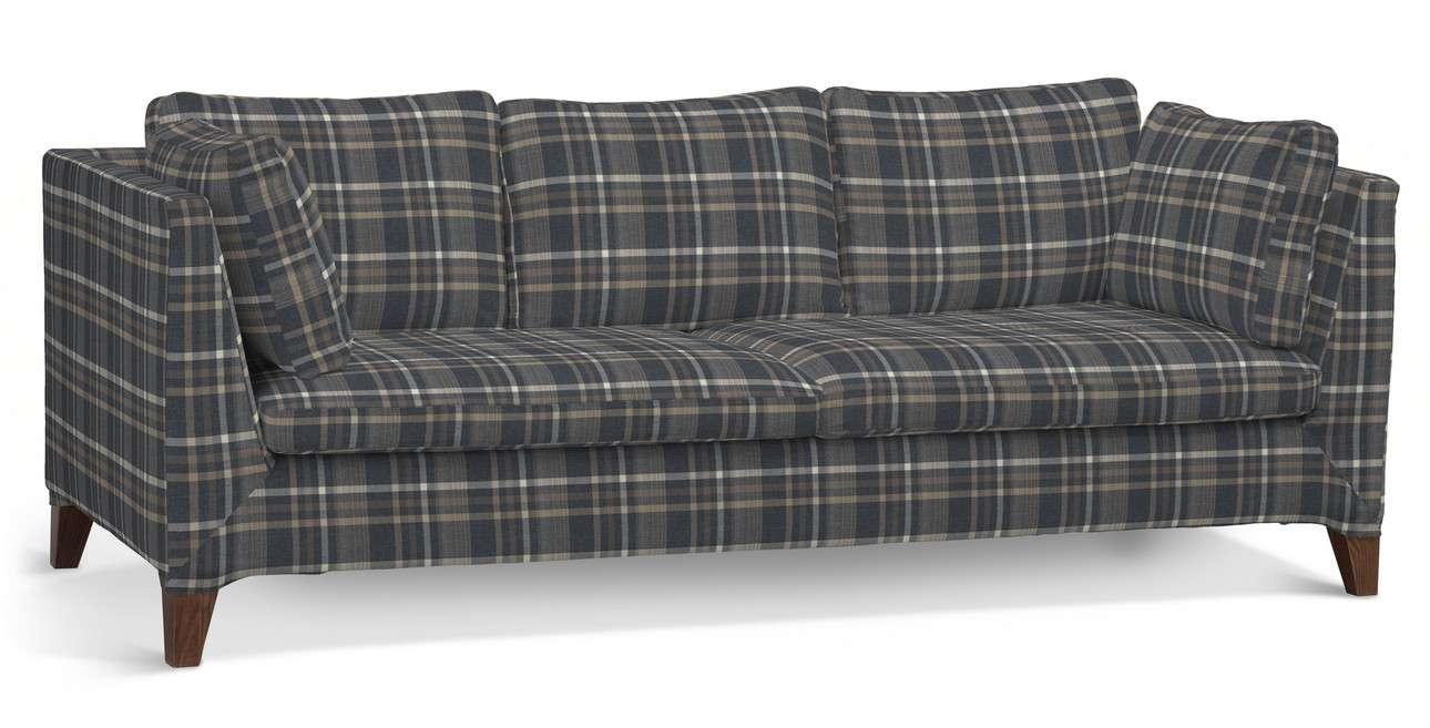 Pokrowiec na sofę Stockholm 3-osobową w kolekcji Edinburgh, tkanina: 703-16