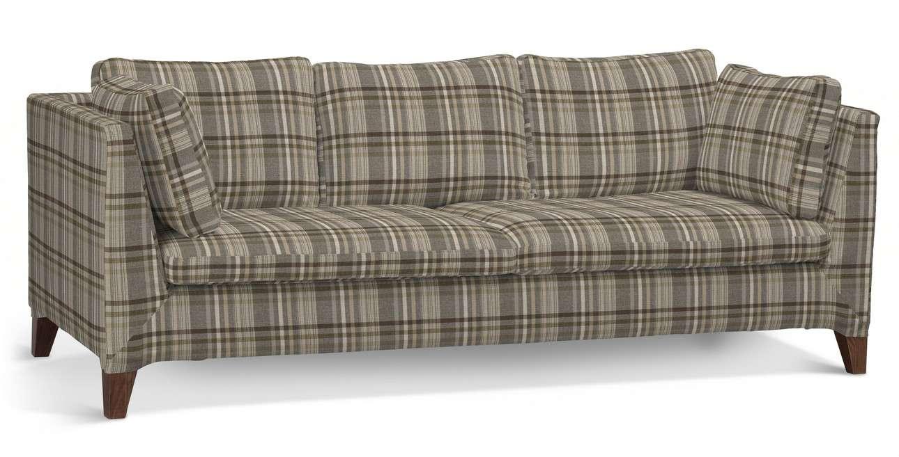 Pokrowiec na sofę Stockholm 3-osobową w kolekcji Edinburgh, tkanina: 703-17