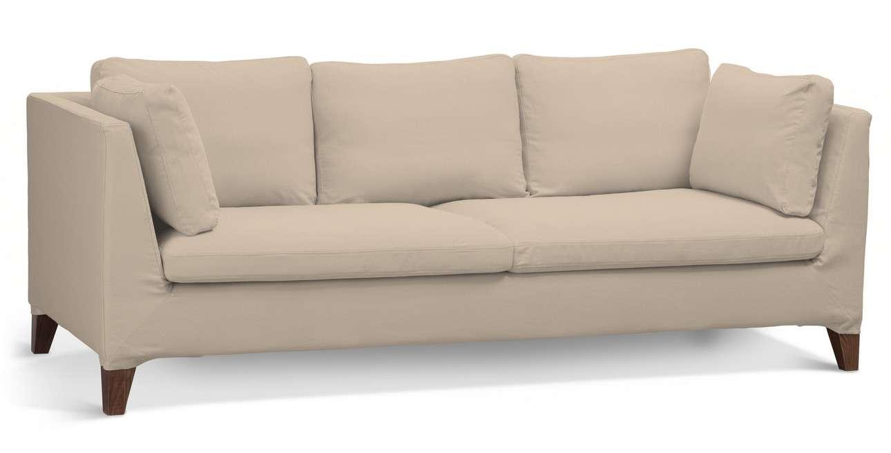 Pokrowiec na sofę Stockholm 3-osobową w kolekcji Living, tkanina: 160-61