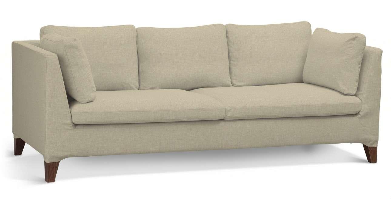 Pokrowiec na sofę Stockholm 3-osobową w kolekcji Living, tkanina: 161-45