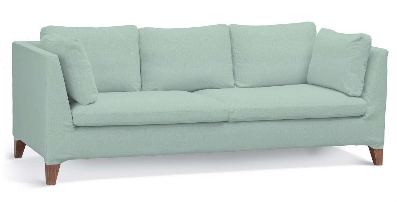 Pokrowiec na sofę Stockholm 3-osobową w kolekcji Living, tkanina: 161-61
