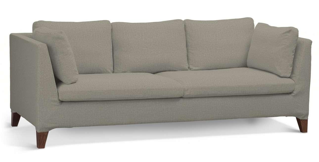 Pokrowiec na sofę Stockholm 3-osobową w kolekcji City, tkanina: 704-80