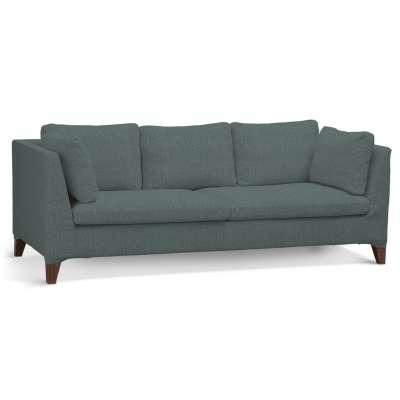 Pokrowiec na sofę Stockholm 3-osobową w kolekcji City, tkanina: 704-85