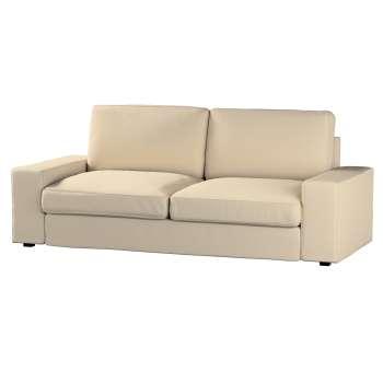 Pokrowiec na sofę Kivik 3-osobową, rozkładaną Sofa Kivik 3-osobowa rozkładana w kolekcji Cotton Panama, tkanina: 702-01