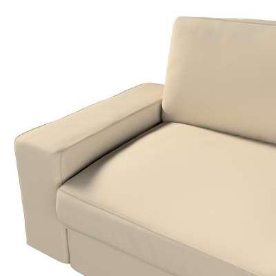 IKEA klädsel Kivik 3-sits bäddsoffa i kollektionen Panama Cotton, Tyg: 702-01
