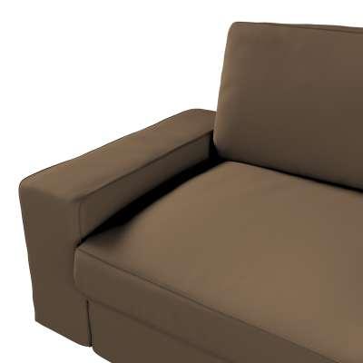 Pokrowiec na sofę Kivik 3-osobową, rozkładaną w kolekcji Cotton Panama, tkanina: 702-02