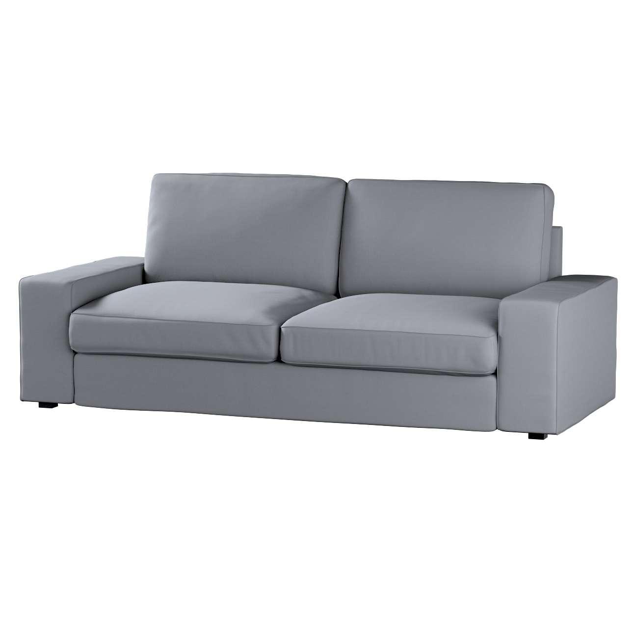 Pokrowiec na sofę Kivik 3-osobową, rozkładaną Sofa Kivik 3-osobowa rozkładana w kolekcji Cotton Panama, tkanina: 702-07